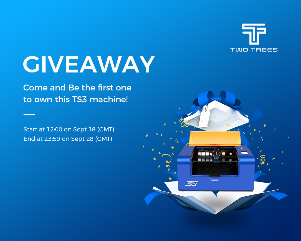 TS3 giveaway poster